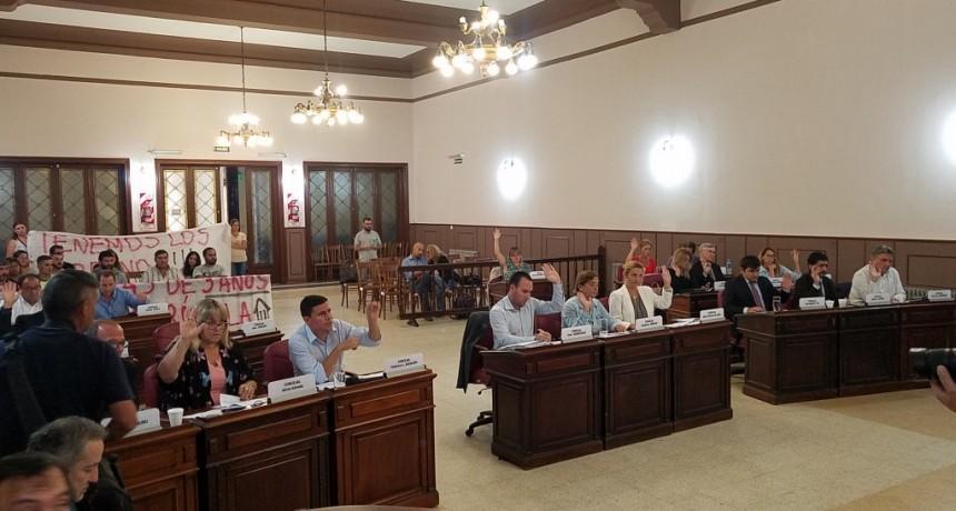 Con presencia de vecinos, sesionó el Concejo Deliberante en su primera ordinaria del año