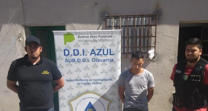 Un detenido por un robo ocurrido en septiembre del 2018