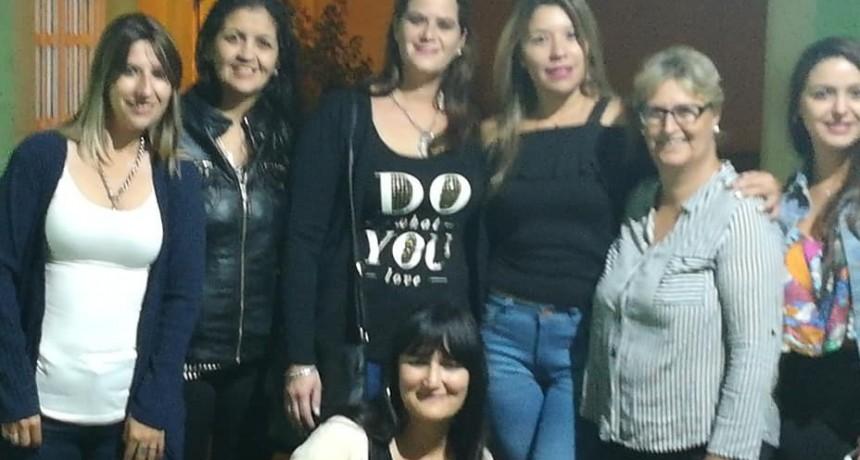 Mujeres del Sindicato de Trabajadores Municipales de Olavarría celebraron con una cena el Día de la Mujer