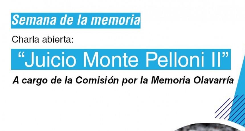 La Comisión por la Memoria Olavarría realizará una charla por el 24 de Marzo