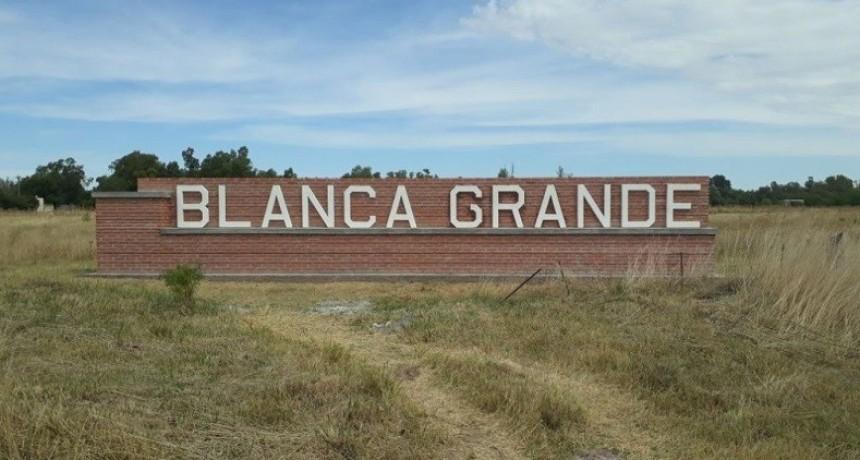 Jornada de vacunación en Blanca Grande