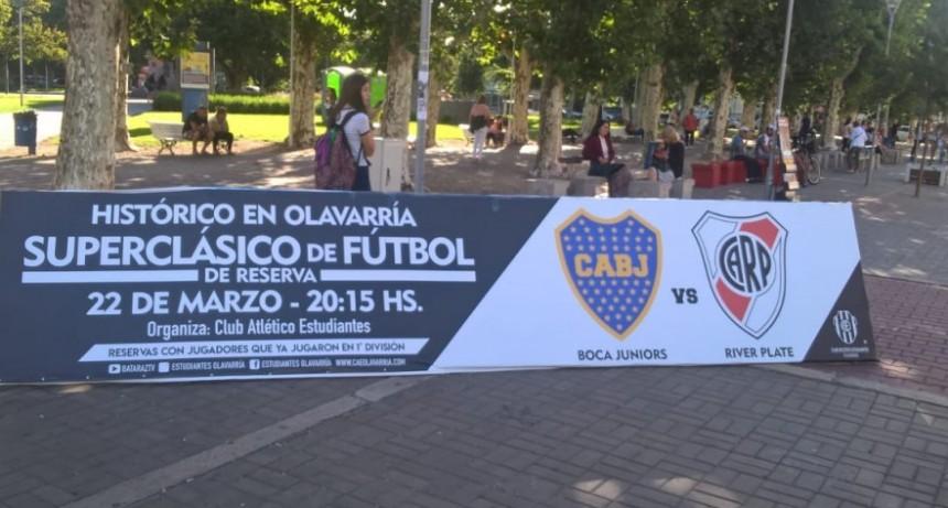 Boca-River: se viene el partido en Olavarría