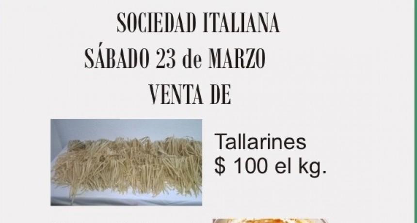 Tallarinada de la Sociedad Italiana
