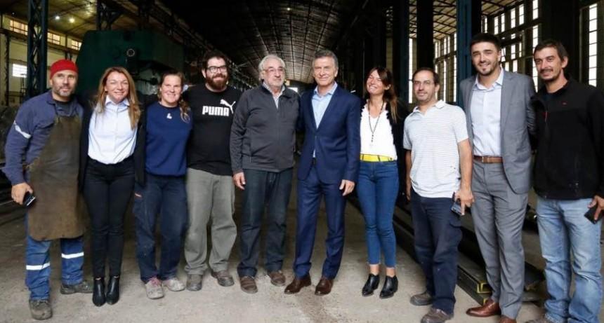 'Es un orgullo poder demostrar a la máxima autoridad del país la calidad de la mano de obra de Olavarría'