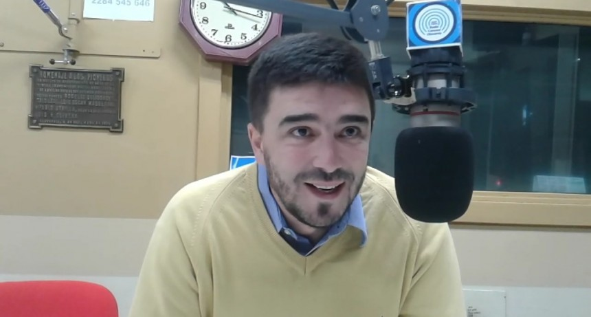El intendente Galli anunció las cloacas para Hipólito Yrigoyen