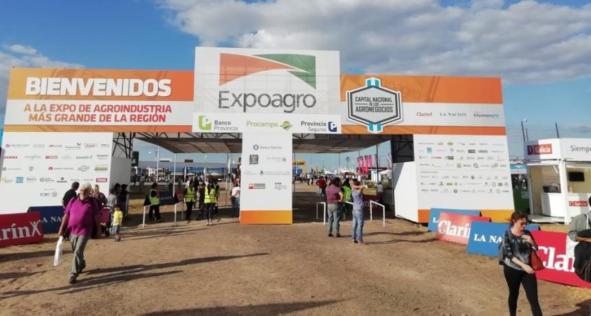 Olavarría dijo presente en Expoagro 2019