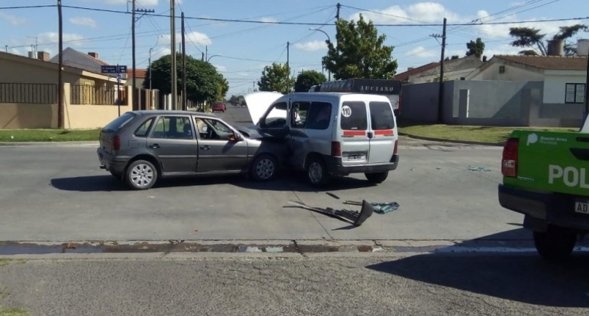 Otro accidente deja cuatro heridos leves