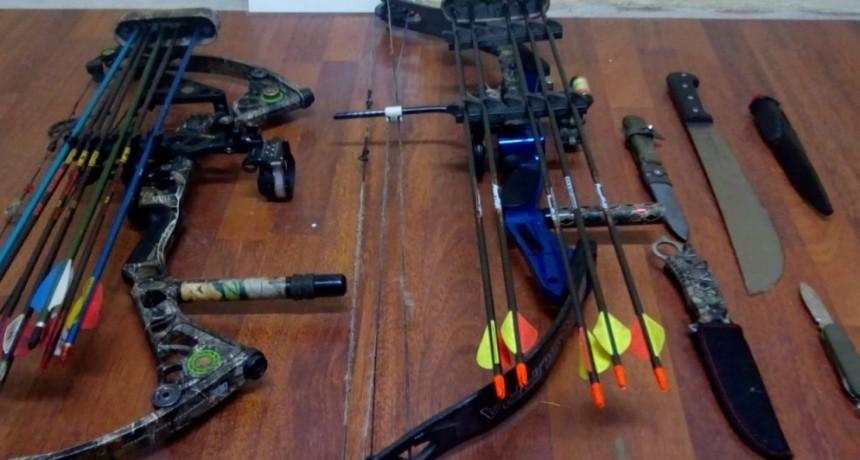 Aprehenden a cazadores