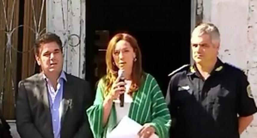Vidal dice que continuará cambiando búnkers narcos por oficinas del Estado