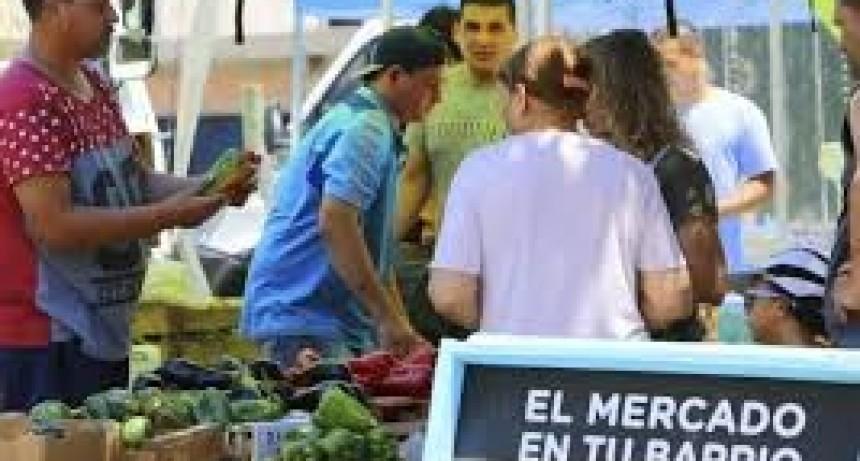 25 productores inscriptos para 'El mercado en tu barrio'