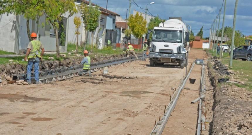 Obras en marcha en tres barrios de la ciudad