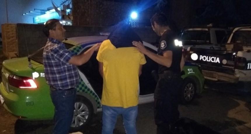 Loma Negra: Detuvieron a un hombre que golpeaba a una mujer