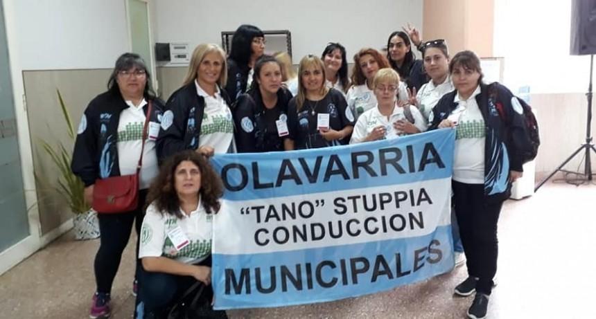 Olavarrienses en el IV encuentro de mujeres sindicalistas municipales