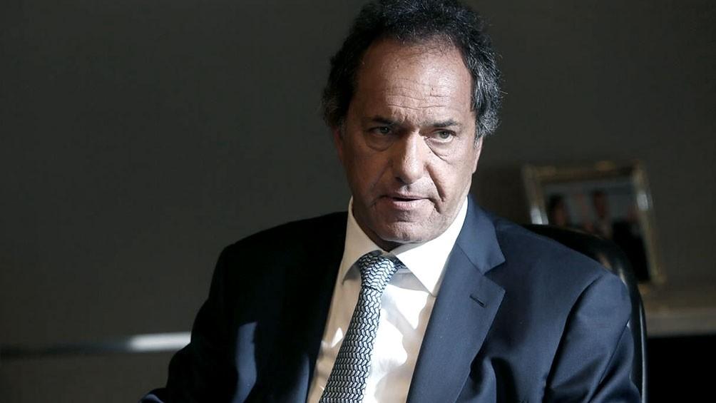 Scioli presentó su renuncia como diputado