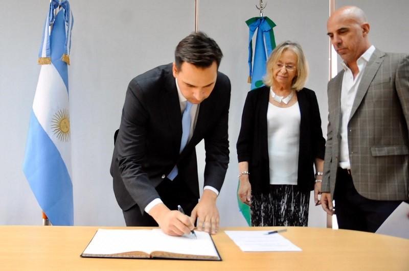 Gastón Argeri juró en el Consejo de la Magistratura