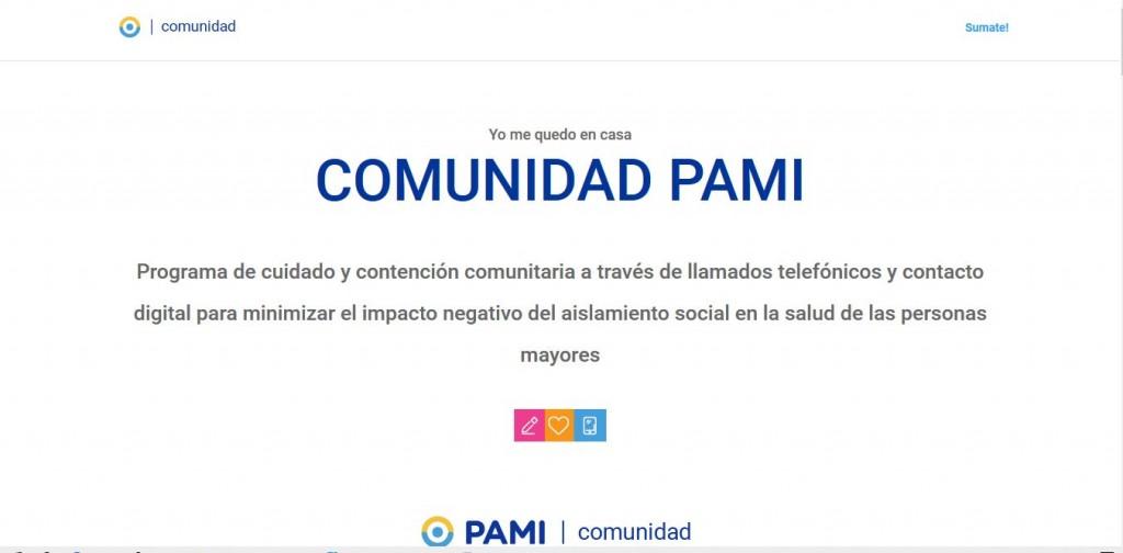 El PAMI arma su comunidad