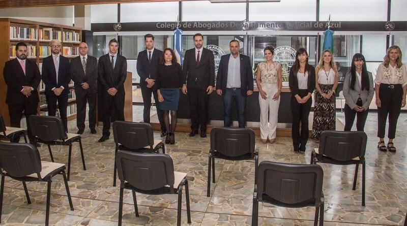 Nuevos matriculados y matriculadas del Colegio de Abogados Departamental