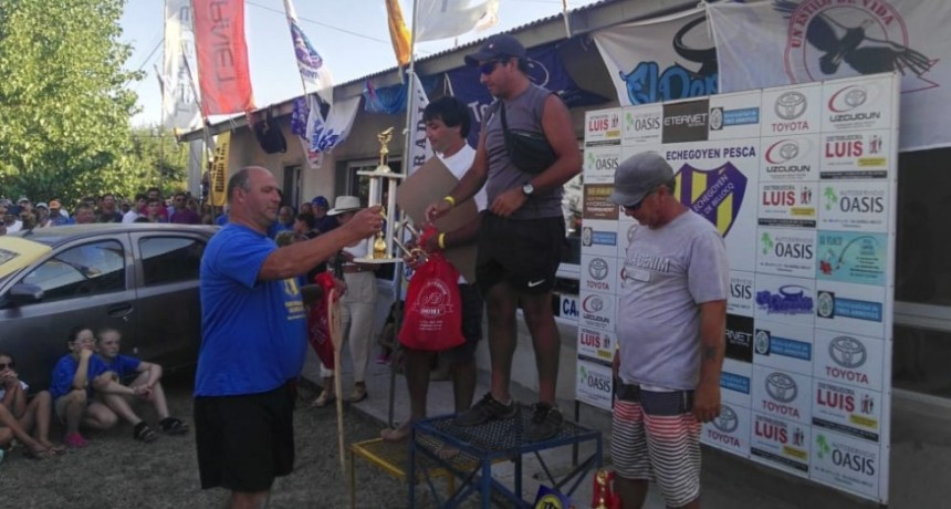 Jorge Cardozo, de Balcarce, se adjudicó el certamen de pesca en Claromecó