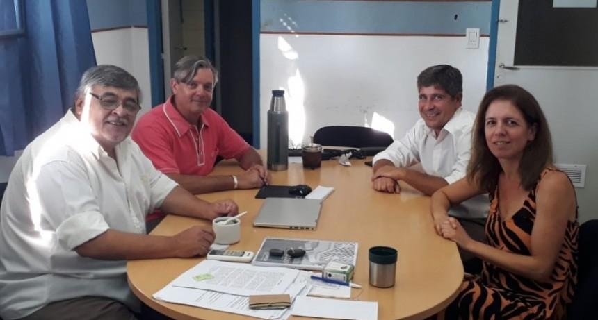 Ciencias de la Salud: Reunión con autoridades de Tapalqué para desarrollar proyectos conjuntos