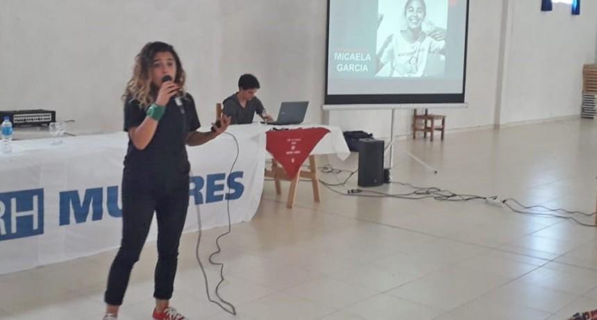 Referente del Municipio capacitó a mujeres sindicalistas en La Plata