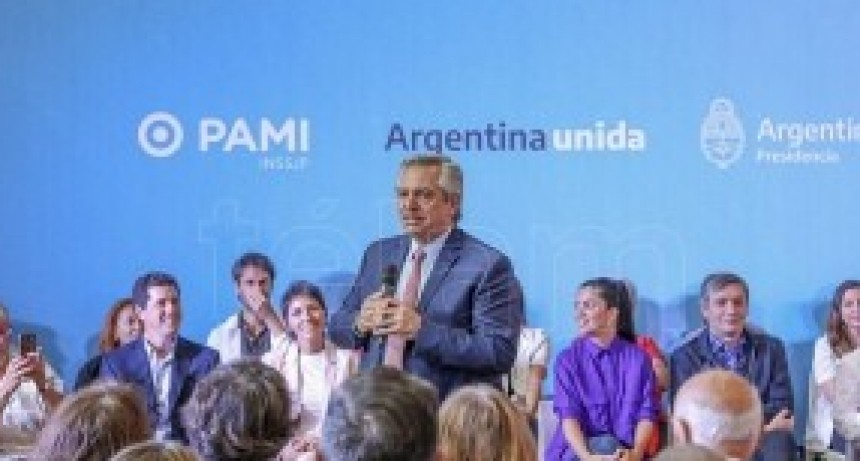 Alberto Fernández:' Dije que los jubilados no iban a pagar remedios y hoy estoy cumpliendo'