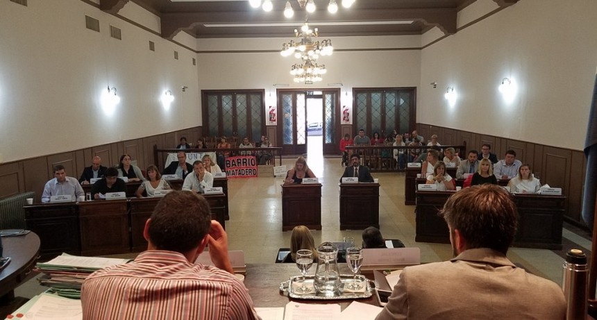 Primera sesión ordinaria del Concejo