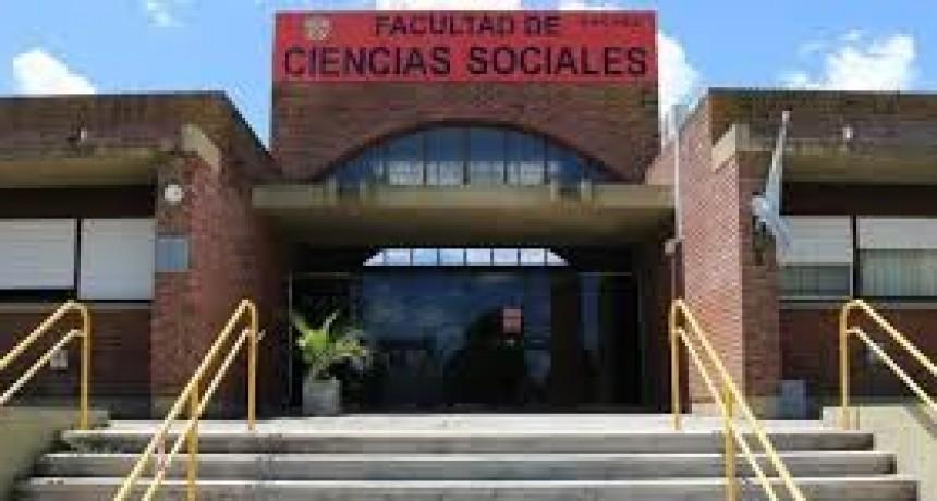Facultad de Sociales: Suspensión de actividades académicas para este lunes