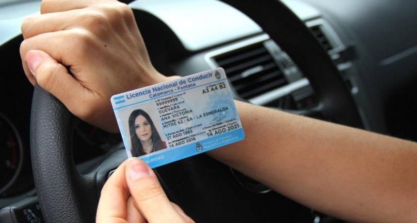 Prorrogan por 60 días los vencimientos de los carné de conducir