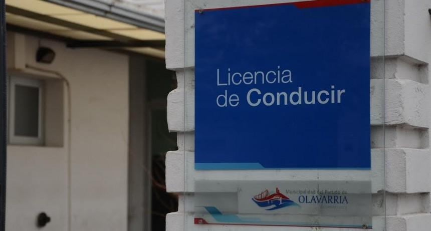 Prórroga por 60 días para licencias de conducir