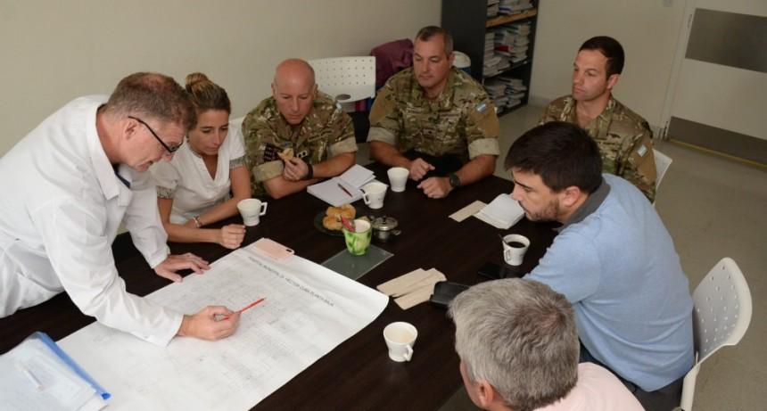 El Ejército se puso a disposición del Municipio
