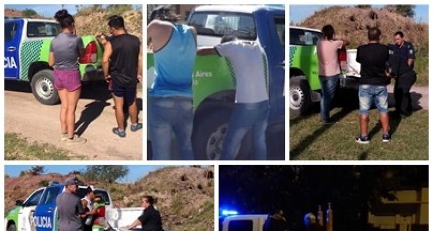 Siguen las detenciones por violar la cuarentena