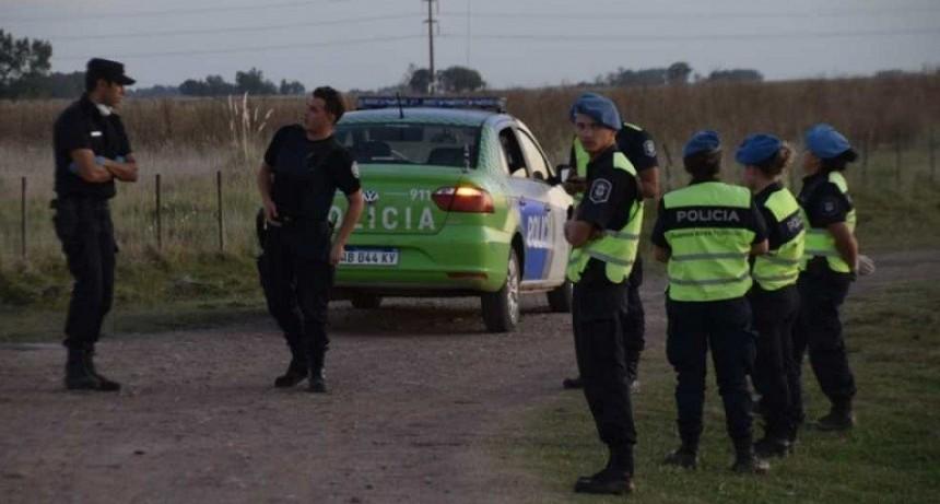 Hallaron un cuerpo en un camino rural