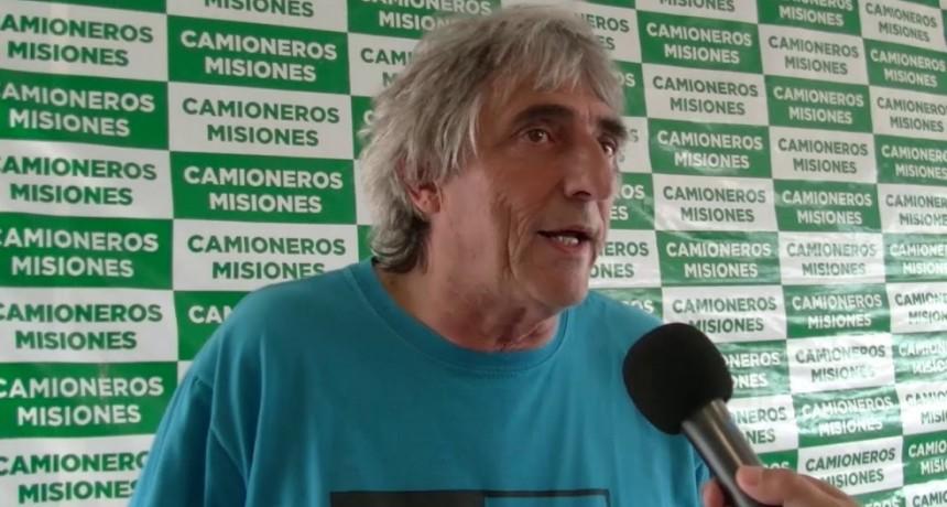 Omar Pérez y la situación que viven los camioneros en plena pandemia de Coronavirus