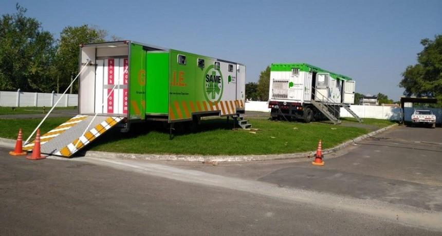 Reforzarán con 20 unidades sanitarias móviles la atención de los hospitales provinciales