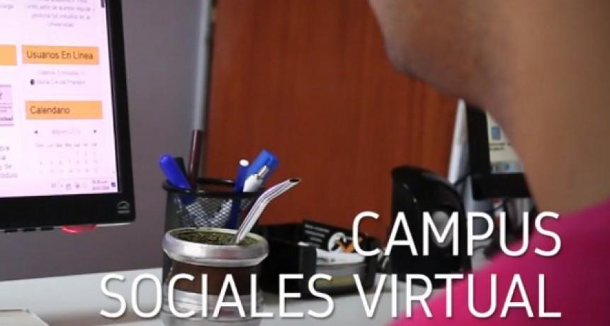 Más de 300 estudiantes iniciaron sus cursadas a través de Sociales Virtual