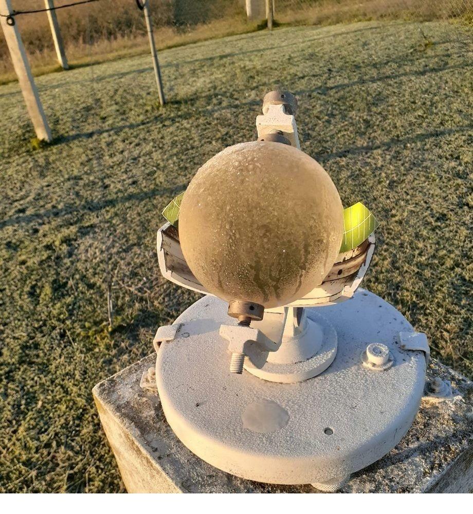 La Estación Meteorológica Olavarría nuevamente observa desde las 6