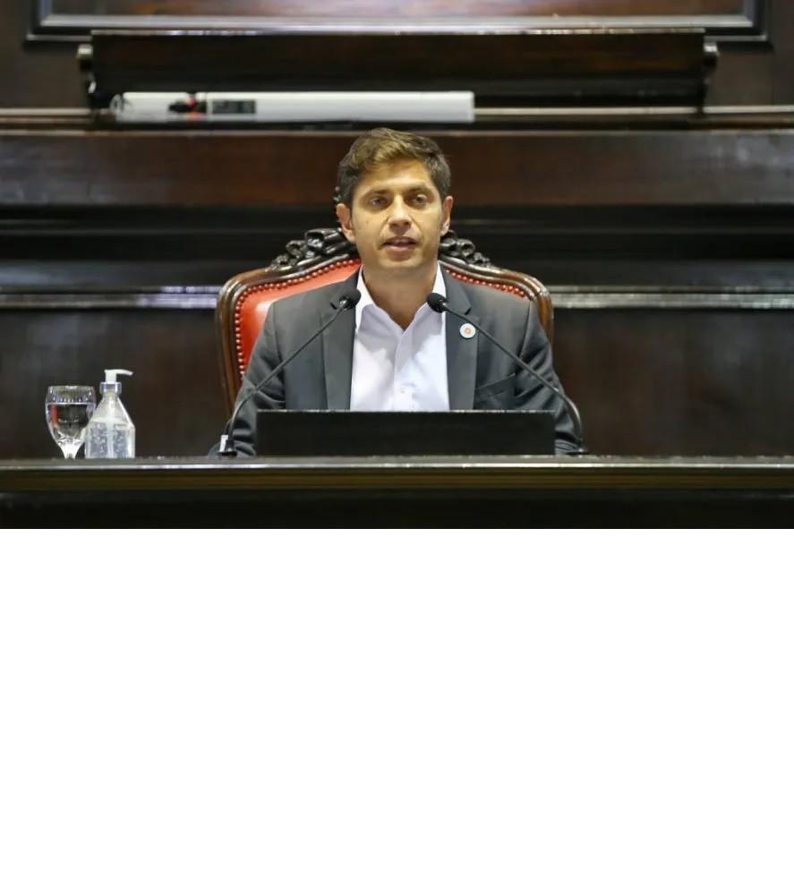 Kicillof: 'La pandemia no mató nuestros objetivos; venimos a construir la provincia de pospandemia'