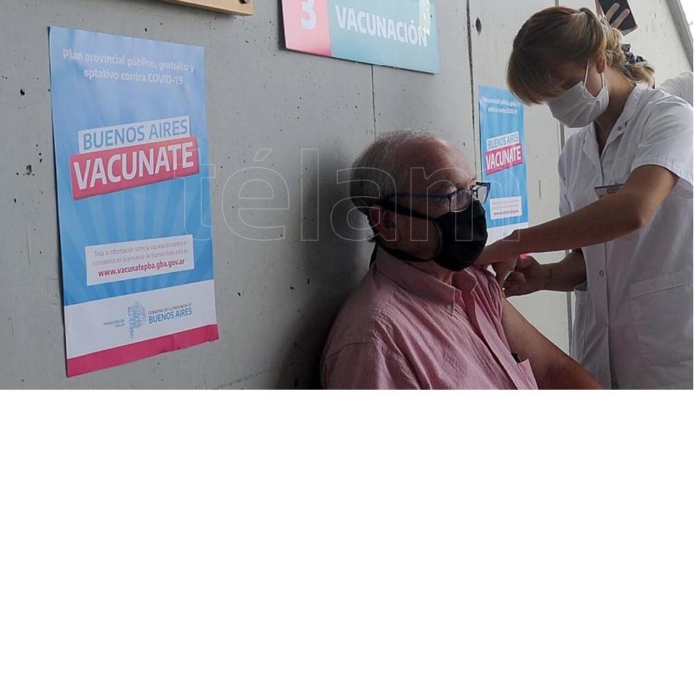 Buenos Aires superó el medio millón de vacunas aplicadas