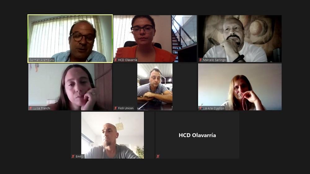 Nueva reunión de la Mesa de Cannabis del HCD