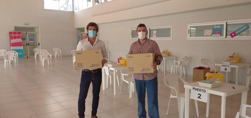 Llegaron a Olavarría 1200 primeras dosis de la vacuna Sinopharm