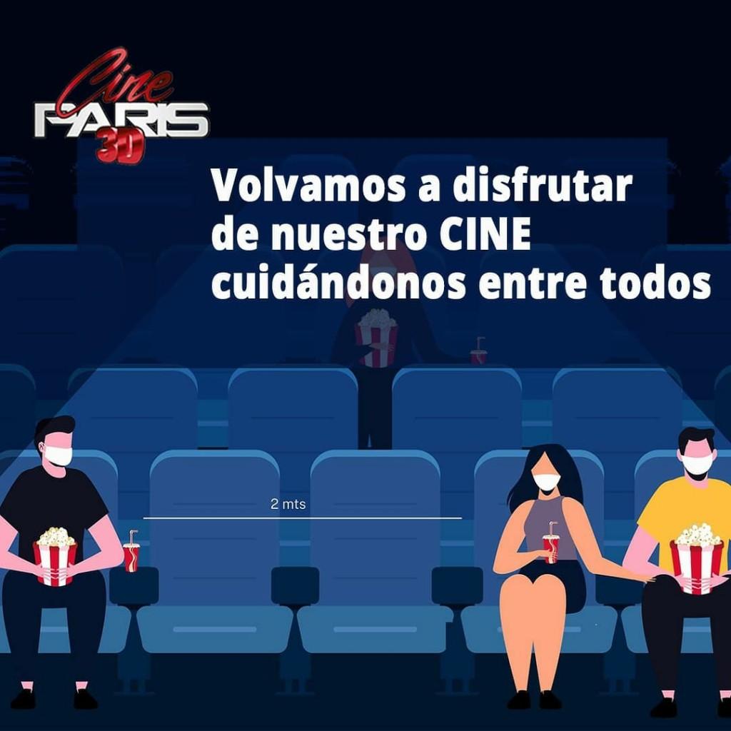 Vuelta del Cine: 'vengan que los vamos a cuidar'