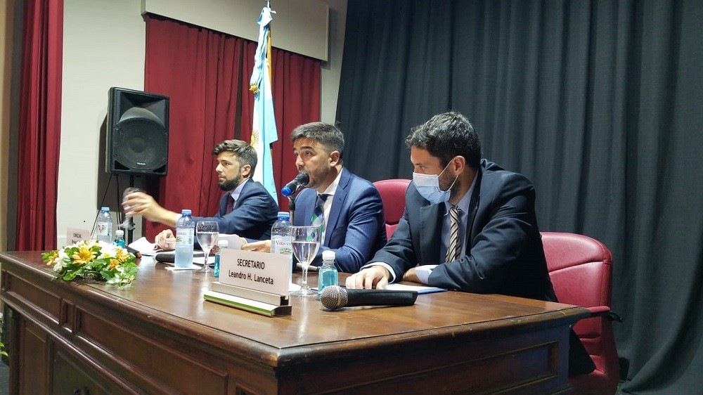 Con el discurso del Intendente , quedó inaugurado el período ordinario de sesiones del Concejo Deliberante