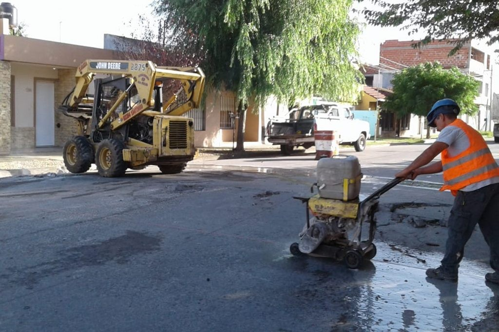 Continúa el plan de conservación de pavimentos de hormigón