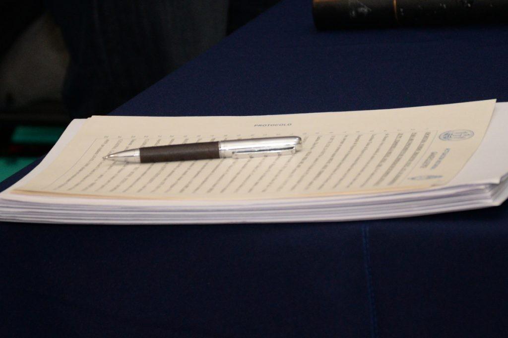 Se realizará un nuevo acto de firma de escrituras sociales