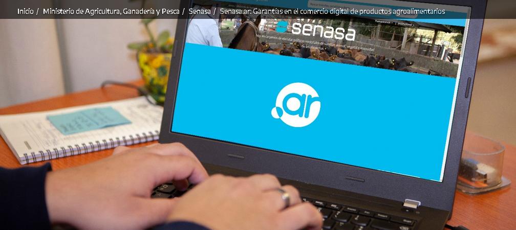 Presentan SENASA.AR para controlar productos que se venden por canales digitales