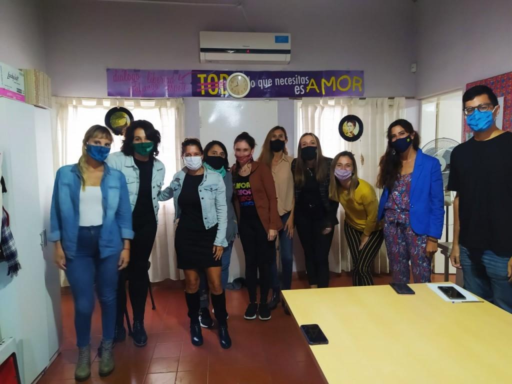 Políticas de Género recibió a equipos del Municipio de Bolívar para asesorarlos en materia de masculinidades
