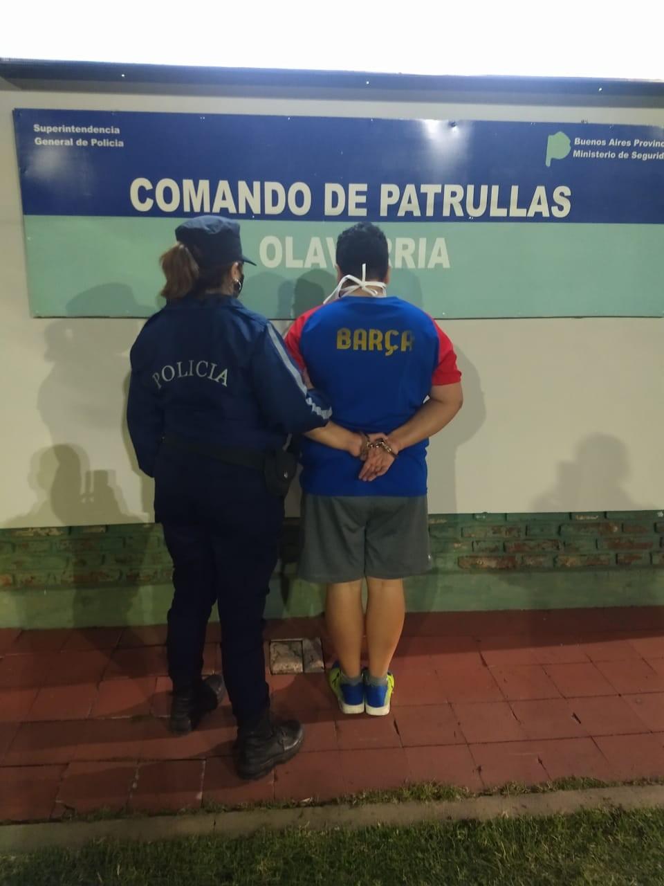 Una detenida por violar restricción de acercamiento