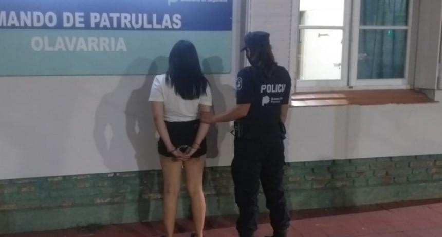 Una joven detenida por violar una perimetral