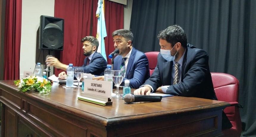 Con el discurso del Intendente, quedó inaugurado el período ordinario de sesiones del Concejo