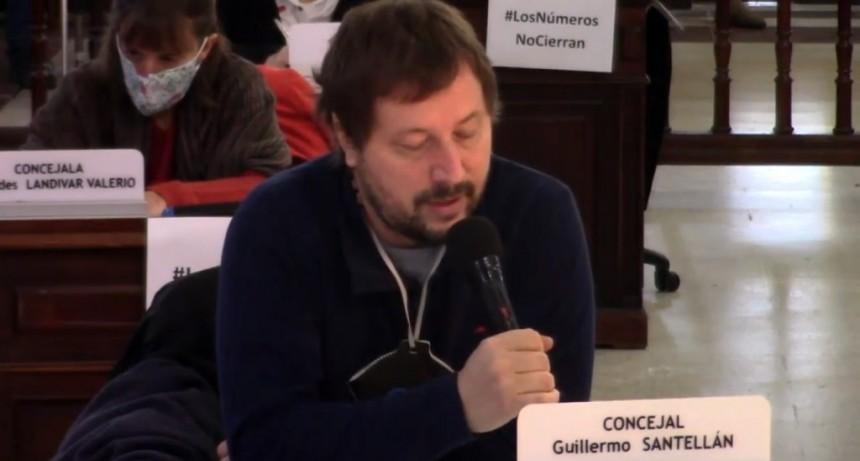 Santellán: 'Es fundamental el trabajo y el apoyo de Nación y Provincia, pero lo soslayó'